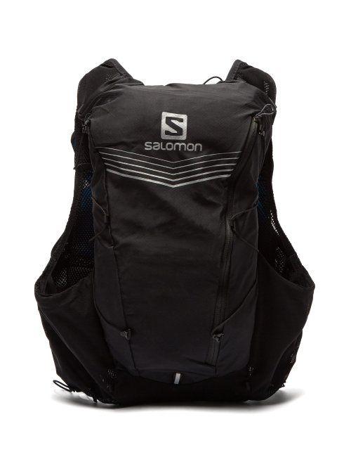 Salomon Salomon Adv Skin 12 Set Backpack Mens Black Salomon Cloth Backpacks Matchesfashion Running