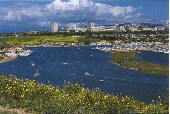 This is Newport Beach, in Orange County California.