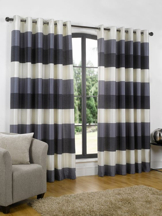 Curtains Ideas best ready made curtains uk : Riviera - Navy Ready Made Curtains [A stunning Navy Fully Lined ...