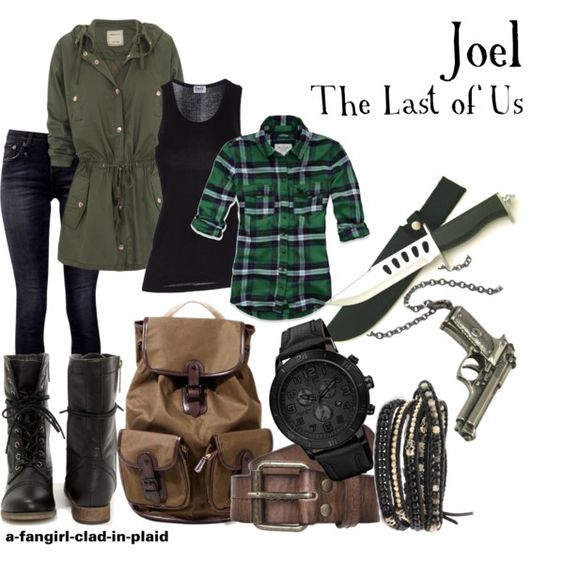 """Joel (The Last of Us)"" by a-fangirl-clad-in-plaid on Polyvore"