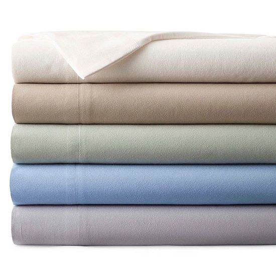Best Flannel Sheets Mary Hunt Recommended Jcpenney Home Solid Flannel Sheet Set Jcpenney Extra Deep Pocket Sheets Sheet Sets Cotton Mattress