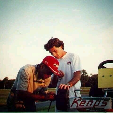 One Degree Up Now 2nd Mechanic Driver Ayrton Senna Ayrton