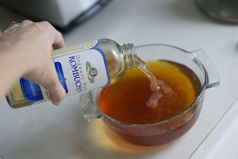 growing a SCOBY from store bought kombucha. Now THIS I can do! I have been putting of trying kombucha because I didn't want to buy the SCOBY. Doesn't get much easier!