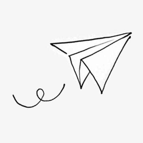 Desenho De Aviao De Papel Dos Desenhos Animados Aviao De Papel