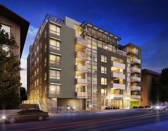 Paint color inspo --- West Los Angeles apartment #architecture #apartments #losangeles