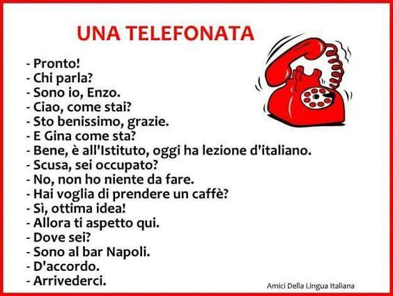 Una telefonata...