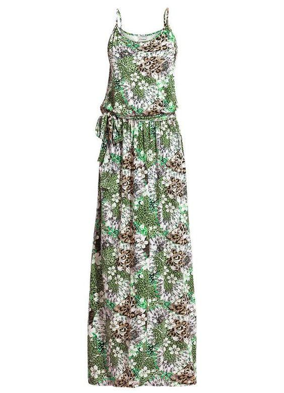 Vestido Longo de Alça Estampado - Posthaus