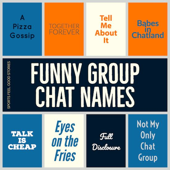Funny Group Chat Names To Make You Laugh Like Your Friends Do Funny Group Chat Names Group Names Funny Group Chat Names