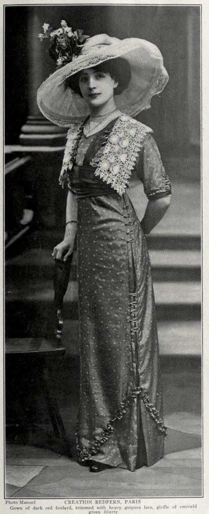 Redfern Dress circa 1911