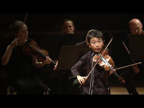 Christian Li 10 From Australia Has Been Awarded Joint First Prize In The Junior Category At The 2018 Menuhin Competition Li Perform Violin Violinists Winner