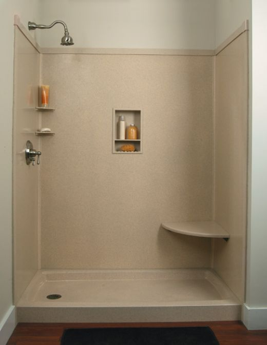 Do it yourself remodeling shower kits in kitchen walk for Do it yourself bathroom remodel