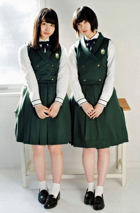 2ショットな平手友梨奈