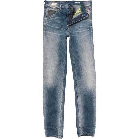 Replay Mens Jeans Slimpar Soft Hand Power Stretch, 29 x 32 RRP ...