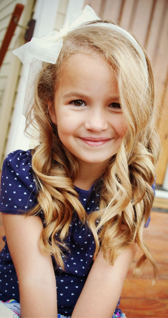 5 year old girl haircuts megara curls five years bow pretty 3456 | 3c268694e5d04ce90300633ef2c29cb6