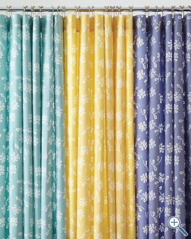 Printed Everyday Shower Curtain - Garnet Hill