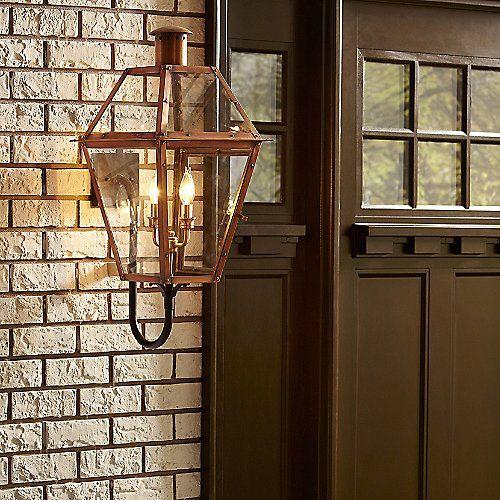 Rue De Royal Outdoor Wall Sconce Copper Outdoor Lighting Copper Lighting Outdoor Wall Lantern