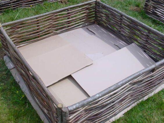 potager en lasagne jardinage pinterest jardins plates bandes sur lev es et lasagne. Black Bedroom Furniture Sets. Home Design Ideas