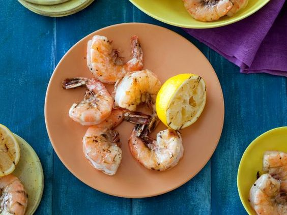 Recipe of the Day: Rachael's 10-Minute Grilled Shrimp is the ultimate introduction-to-seafood recipe.