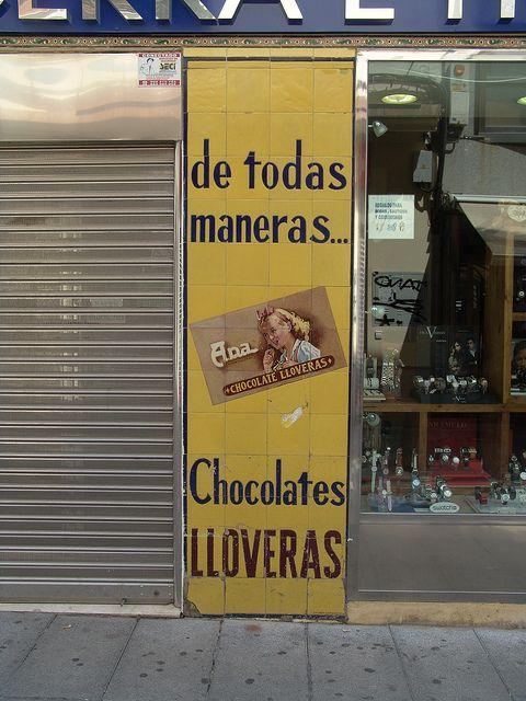 Resultat d'imatges de De todas maneras chocolates Lloveras