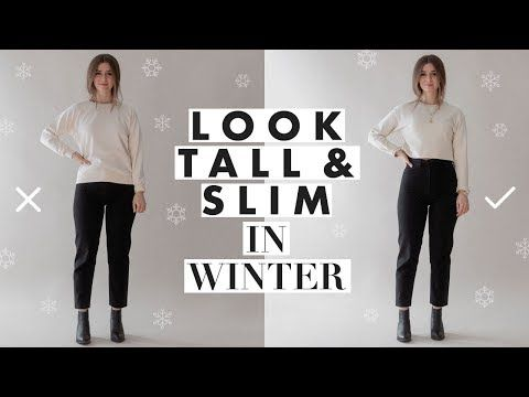 51 How To Look Taller Slimmer Petite Tips For Wearing Winter Clothes Dearly Bethany Youtube Winter Outfits Petite Outfits Petite Fashion