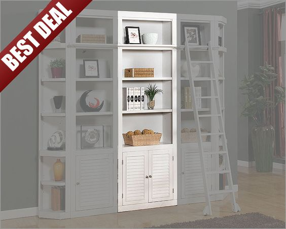 We Can 2 Of Tese Would Be Feet Wide By 8 Tall And The Ladder Bought Too Parker House Open Top Bookcase Boca