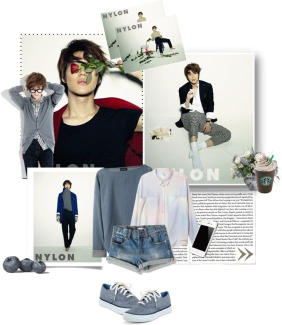 """Taemin~"" by parksungb ❤ liked on Polyvore"