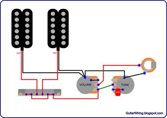 guitar wiring diagrams 2 pickups electric guitar modifications guitar wiring diagrams 2 pickups