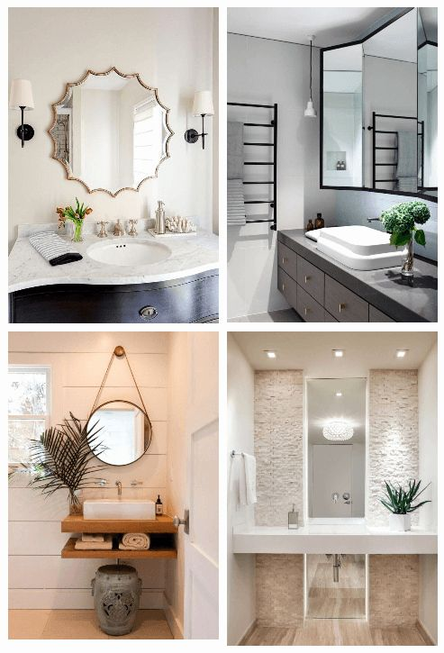 Small Bathroom Mirror Ideas Luxury 27 Bathroom Mirror Ideas For Small Bathroom Unique Modern D In 2020 Small Bathroom Mirrors Unique Bathroom Mirrors Bathroom Mirror
