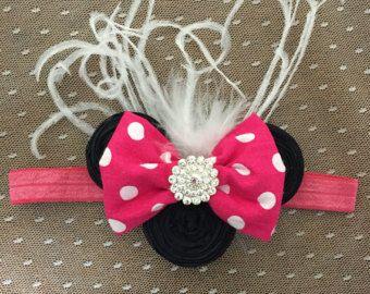 Schwarzen & rote Maus barfuss Sandalen Mouse-Thema von LoliBean