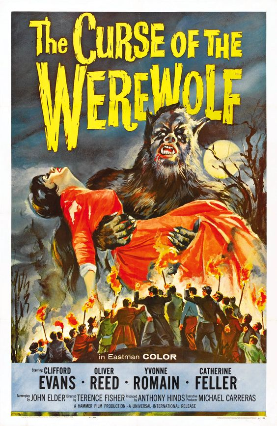 The Curse of the Werewolf (1961, UK) | horror 60s film poster