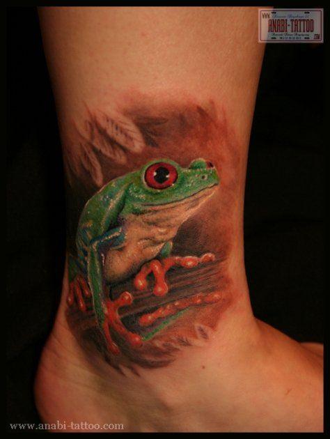 Tree frog #tattoo