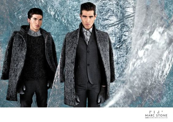 FABIO & JULI FOR MARC STONE FALL/WINTER 2013