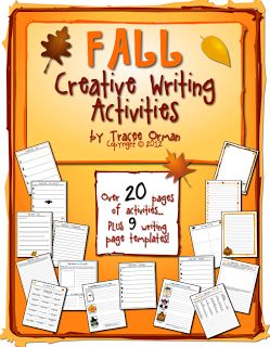Mrs. Orman's Classroom: Fall-Themed Creative Writing Exercises