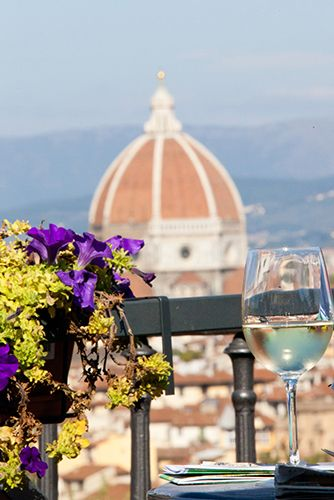 Florence, Italy - home to delicious food and wine.