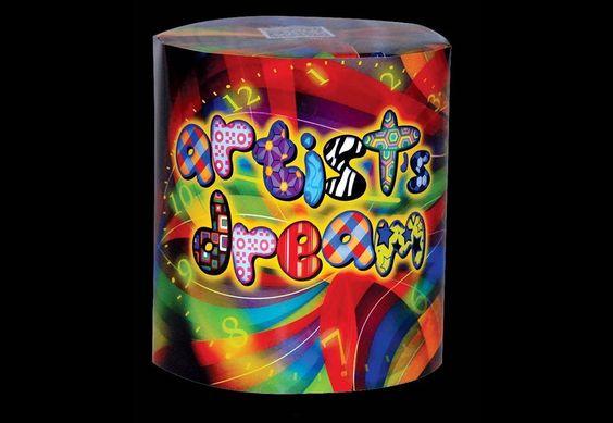 "FEUX D'ARTIFICE (CAKE) - ""ARTIST DREAM"""