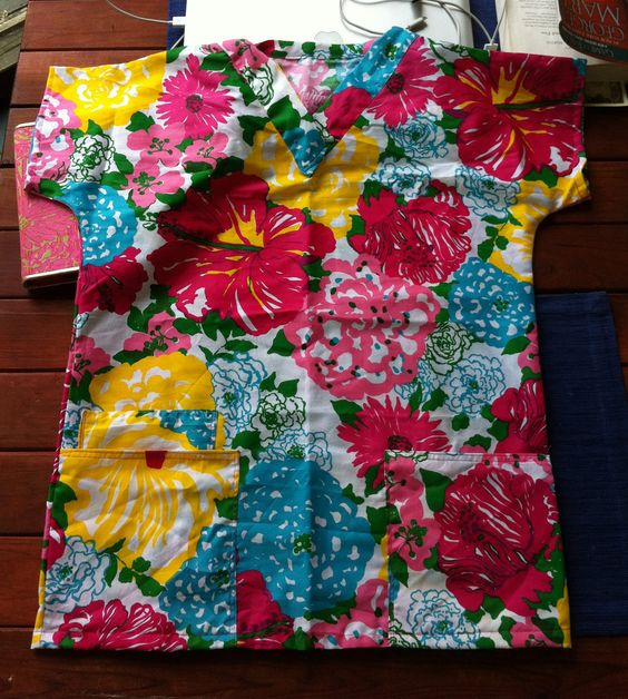 special order for kelseyroo21 scrubs tops made with lilly