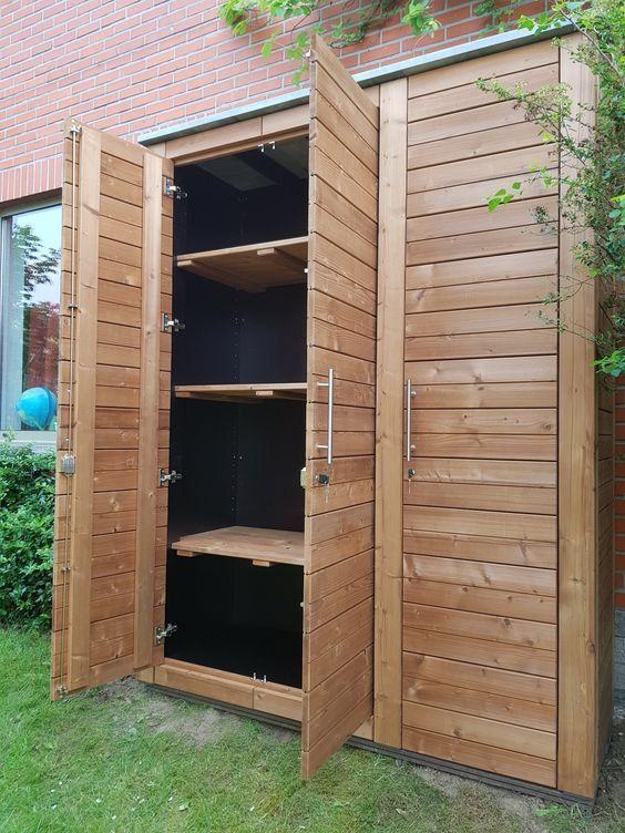 Epingle Par Herta Haunschmid Sur Carpentry Abri De Jardin Rangement Jardin Armoire De Jardin