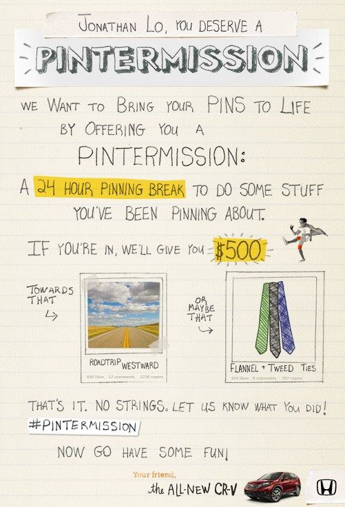 Como a Honda ganhou 5,5 milhões de seguidores no Pinterest