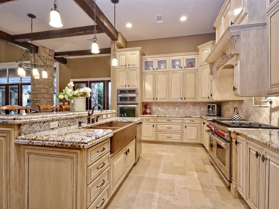 Traditional kitchens copper farmhouse sinks and farmhouse - Kitchen sinks austin tx ...