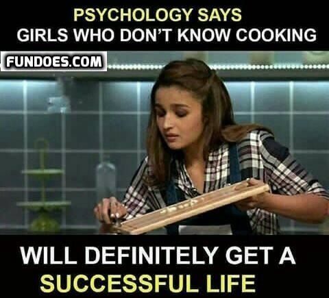 Girls Funny Memes In Www Fundoes Com To Make Laugh Funny Girl Quotes Psychology Fun Facts Friends Quotes Funny