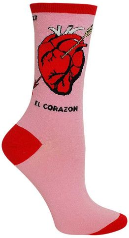 El Corazon Awesome Novelty Socks for Women