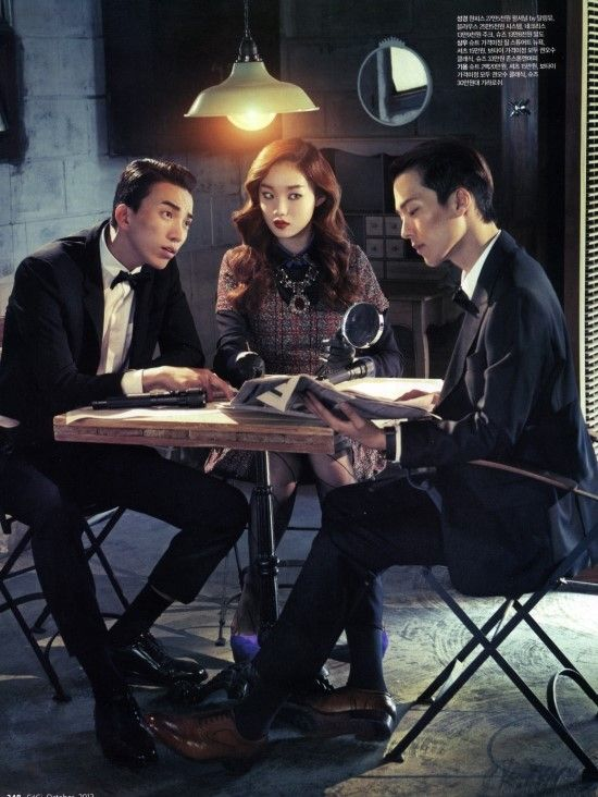 Lee Seongkyeong, Do Sangwoo and Jang Kiyong for Ceci Korea Oct 2012