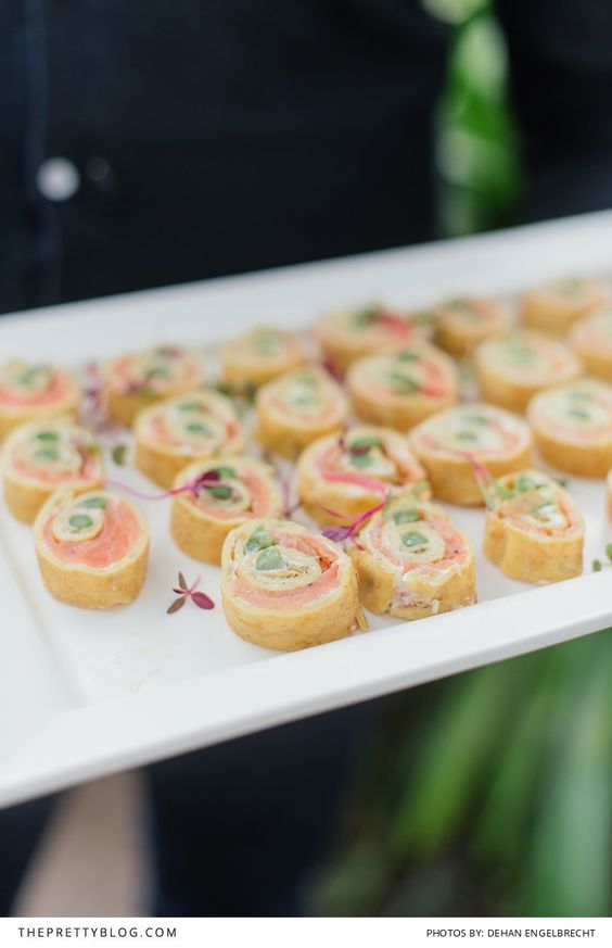 Intimate elegance under the mountain canapes ideas for Gluten free canape ideas