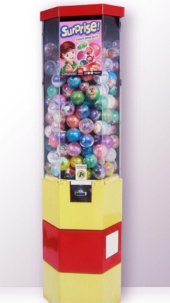 Distributeur de capsules 68 mn distributeurs automatiques de jouets pinte - Distributeur de capsules ...