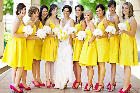 28 Amazing Ideas for Bridesmaids Dresses: