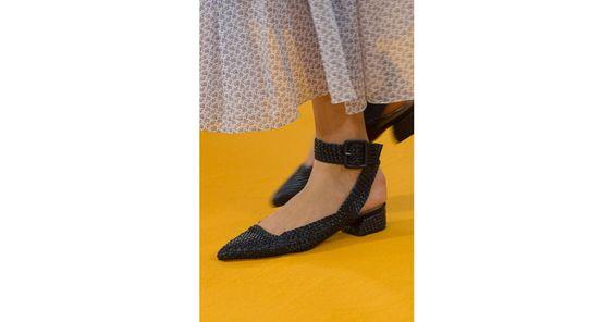 Best Runway Shoes at London Fashion Week Spring 2017   POPSUGAR Fashion