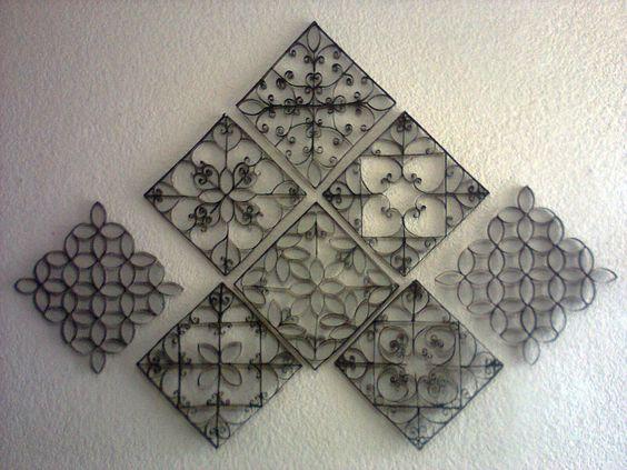 Utilisima luz en casa decoracion de paredes con rollos - Decoracion con rollos de papel higienico ...