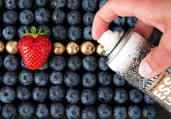 SPRAY COMESTIBLE Food Finish edible spray paint