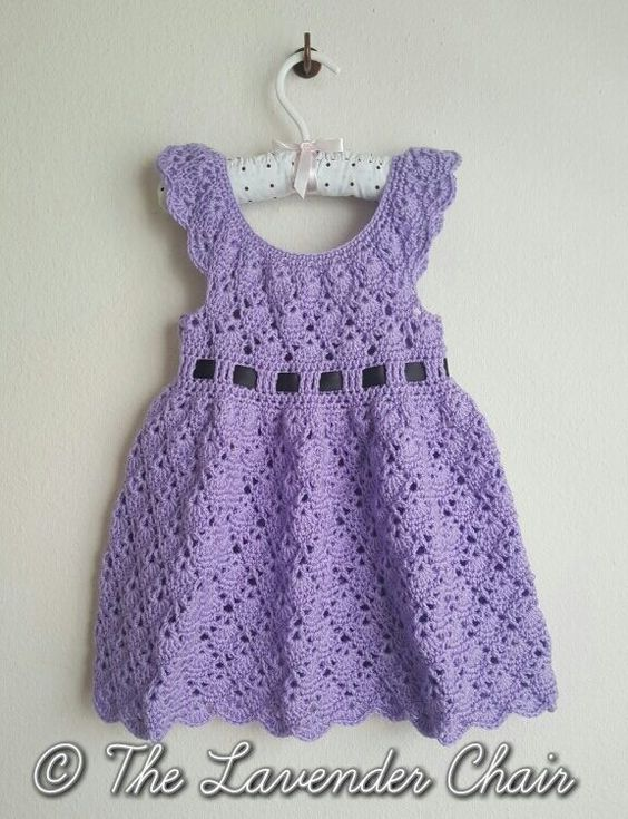 Free Crochet Pattern Childs Dress : Vintage Toddler Round Yoke Dress - Free Crochet Pattern ...