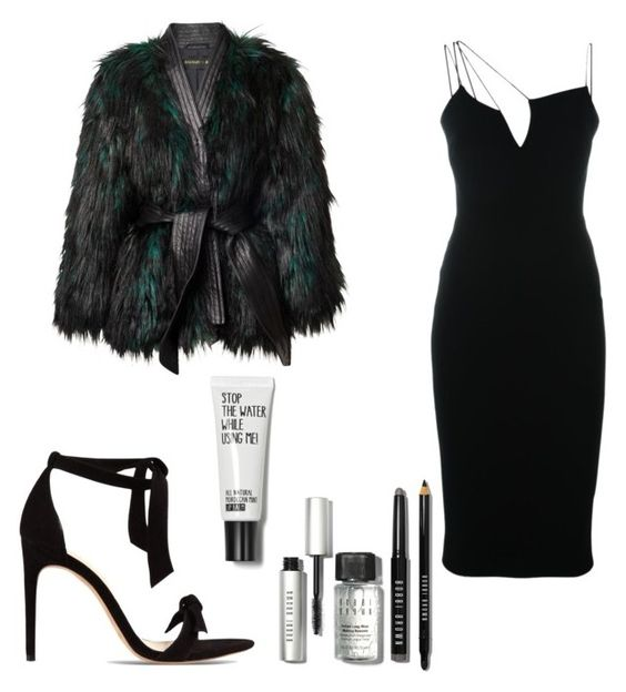 """Untitled #137"" by valbonar ❤ liked on Polyvore featuring Victoria Beckham, Alexandre Birman and Bobbi Brown Cosmetics"